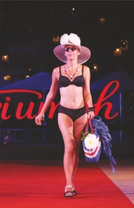 Triumph lingerie fashion week
