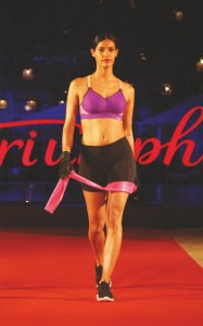 Triumph fashion week - lingerie fashion show