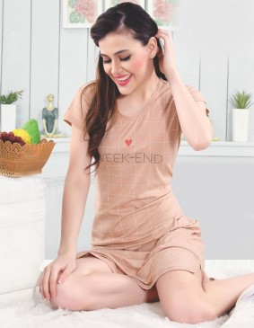 Comfortable and soft nightwear for you - Natural