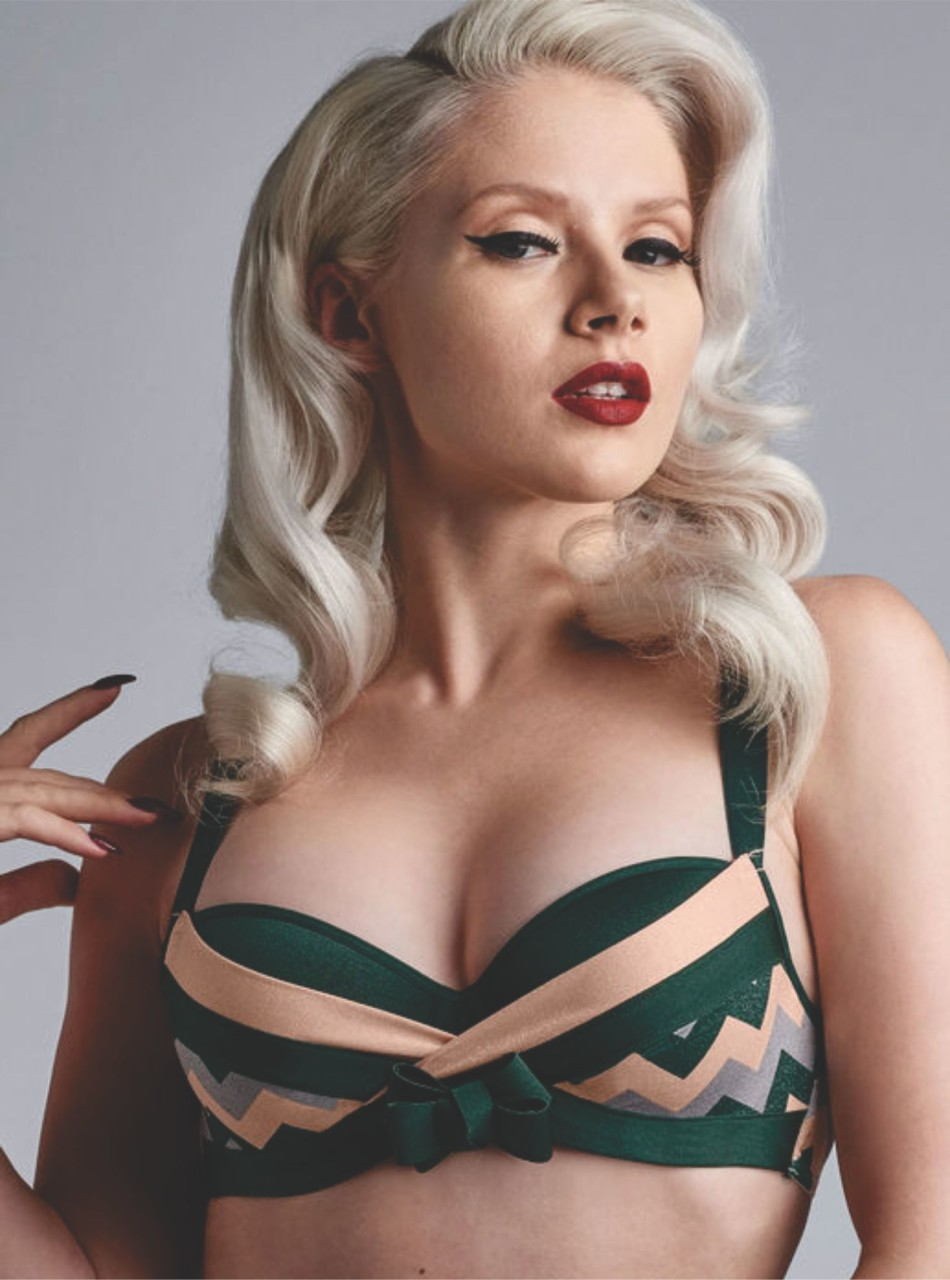 Marlies Dekkers launches its sophisticated Courage Plunge Balcony Bra