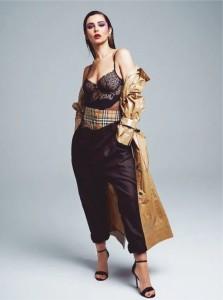 Pop star Cheryl stuns in sexy lingerie - 2