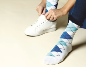 Put your fashion foot forward in Marc Socks