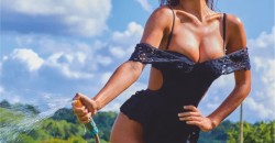 Erin Willerton exudes hotness in a sizzling garden shoot 2