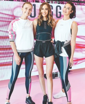 Rebecca Judd launches her latest collection for activewear brand Jaggad 2
