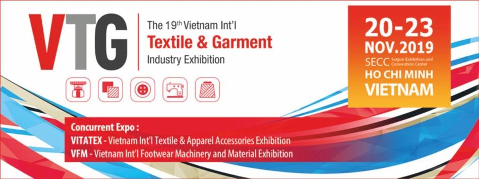 The 19th Vietnam International Textile & Garment Industry Exhibition 2