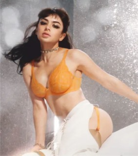 Charli XCX poses as a sexy rodeo queen for Agent Provocateur's latest campaign - 2