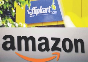 Traders' body demands ban on Amazon and Flipkart