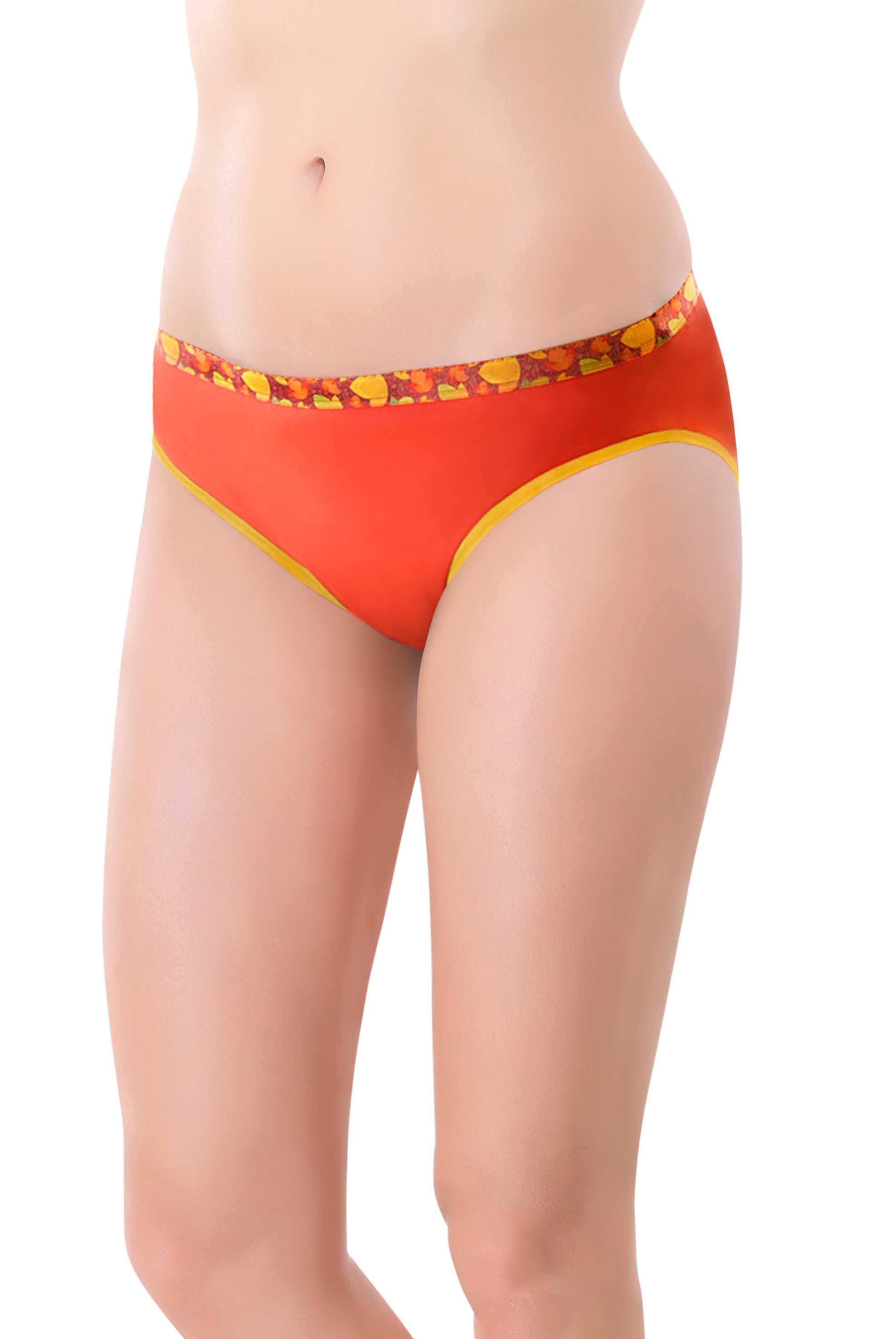 Orange Panties for women