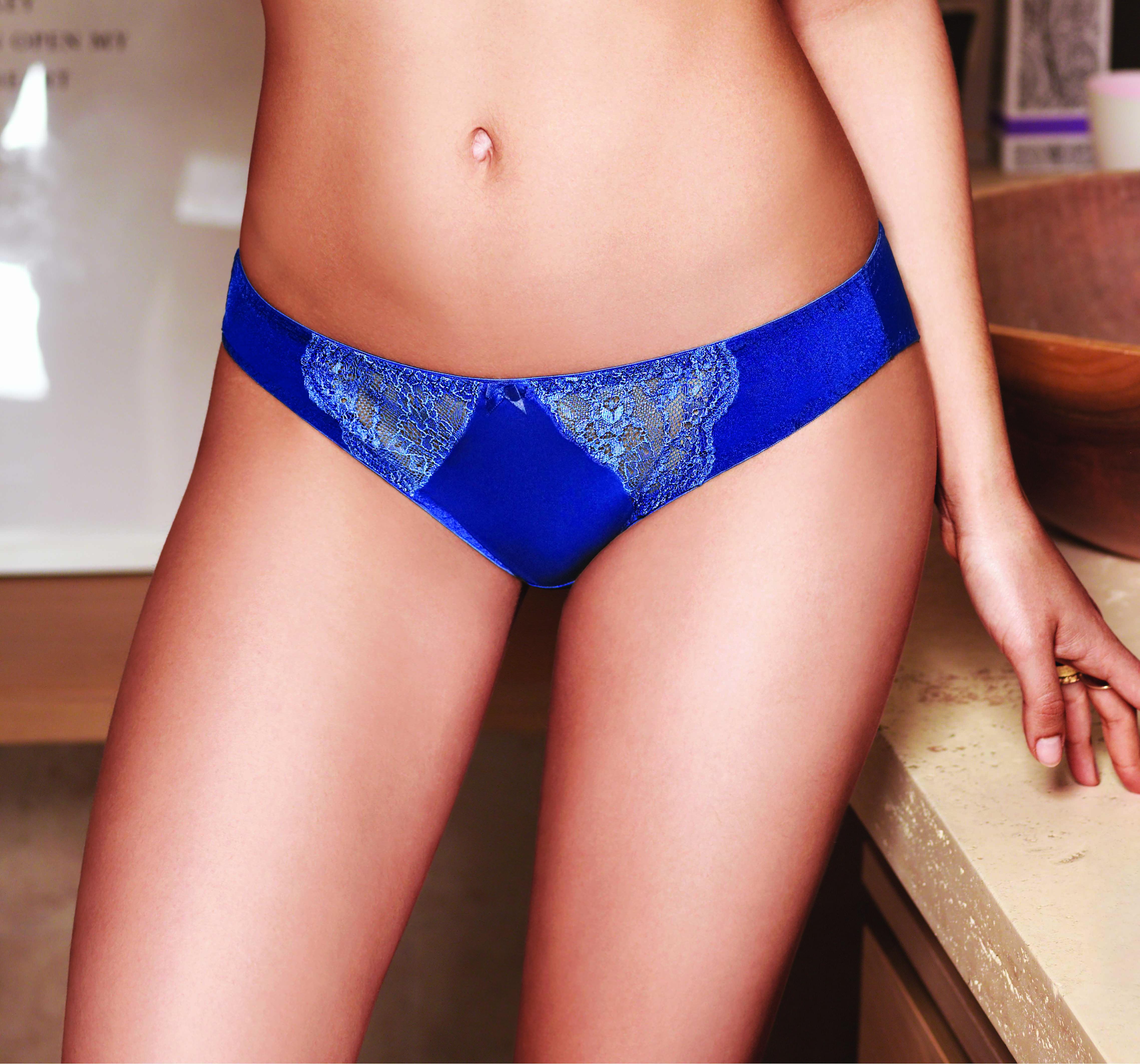 women dark Blue Lacy Panties