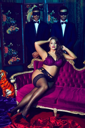 Ashley Graham New Lingerie Campaign