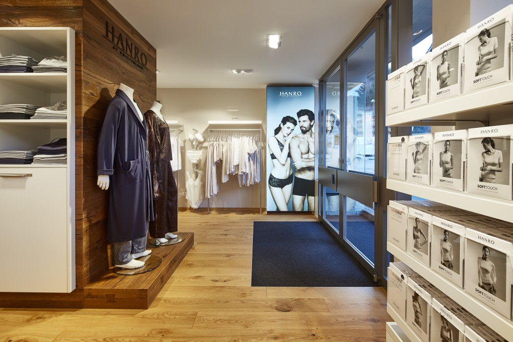 HANRO New Store in Gstaad