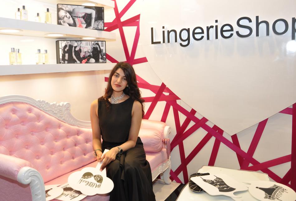 New Lingerie Shop Opened by Radhika Goenka