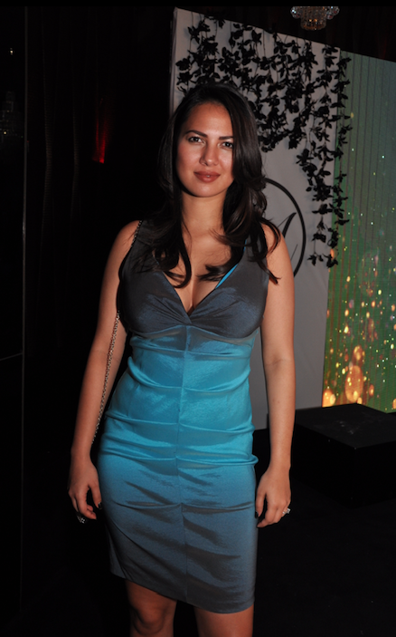 Rochelle rao at lingerie launch event