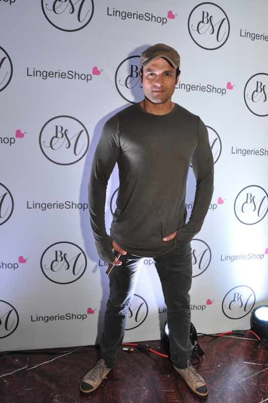 Rohit Roy at the launch of Lingerie Shop
