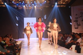 models ramp walk at triumph fashion show