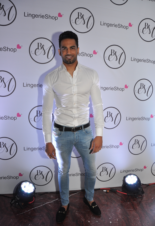 Upen Patel at the Launch of Lingerie Shop