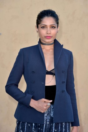 freida pinto cruise lingerie collection