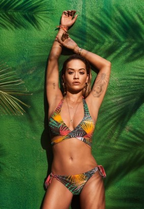 Rita ora tezenis swimwear advt shoot
