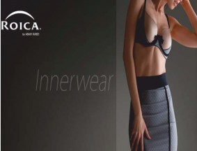 Roica partners new design for maredimoda lingerie