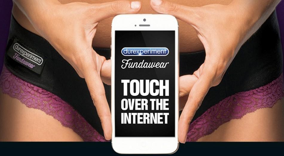 Durex Fundawear 'touch the internet'