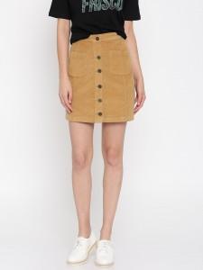 11505730907383-Honey-by-Pantaloons-Women-Khaki-A-Line-Skirt-1401505730907009-1