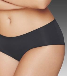 black cotton panties