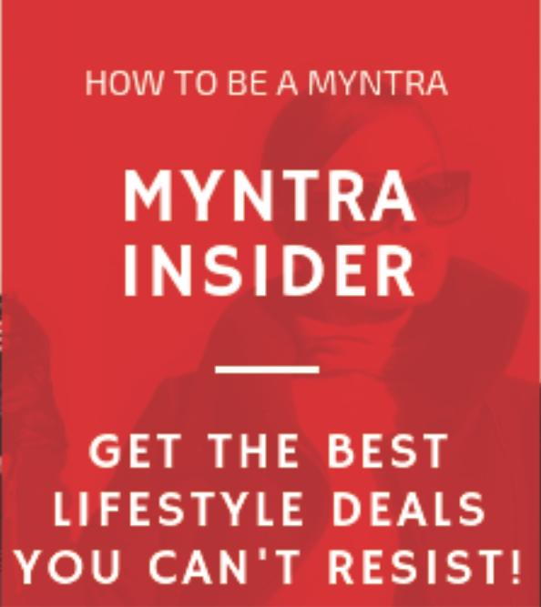 Myntra insider