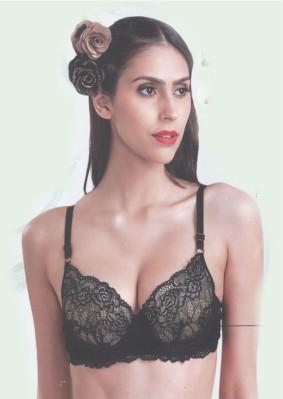 lacy net bra