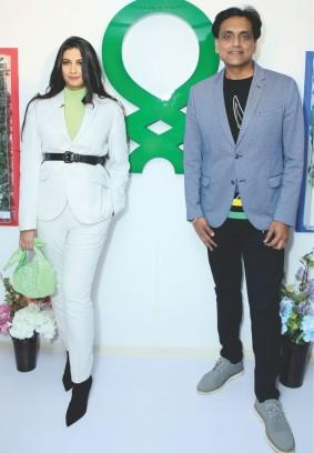 Benetton stylish clothing wear