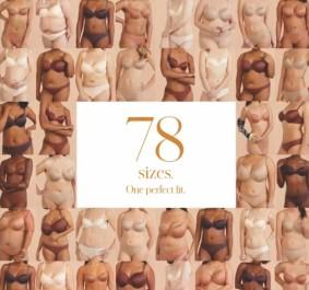 Thirlove launched 78 bra sizes