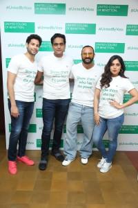 Siddhant Chaturvedi, Sundeep Chugh, CEO & MD, Benetton India, Saif Ali K... (1)