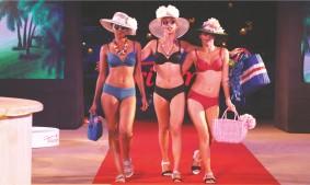 Triumph fashion show - lingerie show