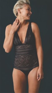 Emma Willis debuts lingerie collection in